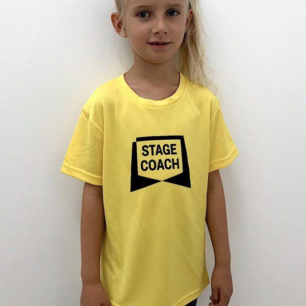 Active T-Shirt für die Kleinen , gelb